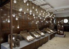 Una tienda de bombillas