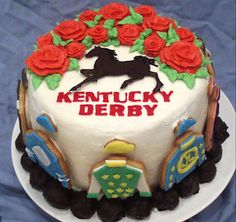 Kentucky Derby Cake idea
