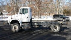 2004 FREIGHTLINER FL70 4X4; CAB & CHASSIS - for sale