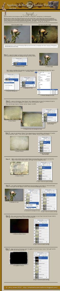 Photoshop.....great tutorial (part 1) ........There is a part 2 which adds text.