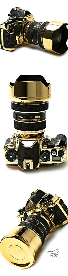 Brikk ● 24K Gold Stingray Lux Nikon DF Camera $58,000