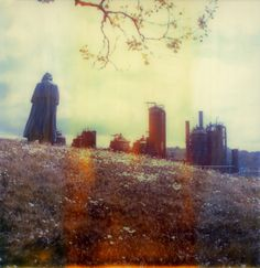 Ethereal Polaroid photos by Brandon C. Long #photography #analog #film #polaroid #cloak #industry