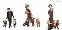 """""""The Doctor, and his precious Children of Time"""" -Davros, Journey's End #doctorwho #nine #ten #eleven"""