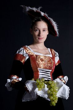 "Masha in ""Cranach"" dress"