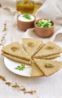 Herbed feta quinoa crackers