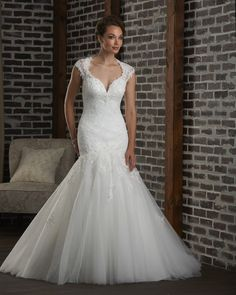Sweetheart Front open back wedding gown 309 - Bonny - Collections | Bonny Bridal