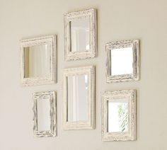 Home Decor Idea / Mirror Ideas / Wall Grouping