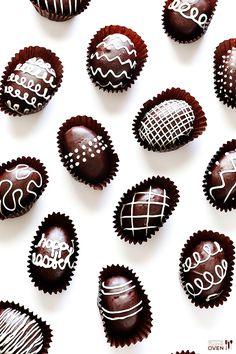 4-Ingredient Easter Egg Oreo Truffles