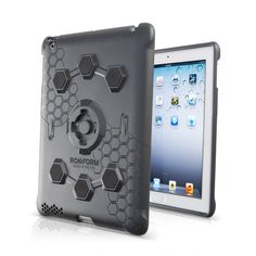 Roklock v3 iPad Case ($69.00) for the new iPad and iPad 2 -more than just a case, it's a system. The Patent Pending RokLock integrated mounting system allows you to mount your new iPad or iPad 2 just about anywhere, so its always there when you need it. The new RokLock v3 case is made from reinforced high impact polycarbonate and includes a Rokgard™ screen protector. One of the most protective cases on the market today. Compatible with all iPad carriers. Optional Maglok magnetic mount kit.