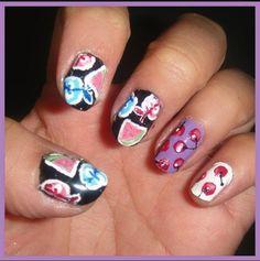 Moschino Inspired Nail Art - Nail Art Gallery by nailsmag.com