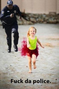 Running from the law...