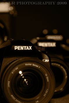 I love my Pentax... I have a dozen or so...
