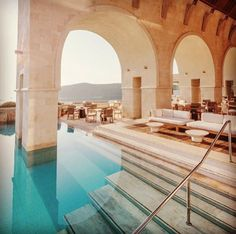 Daily Daydream! Enjoy wine, food, and views on an Olympian scale in Greece.