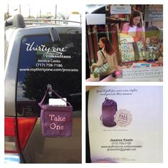 This is how I generate leads for my Thirty One business! I but 5 mini catalogs stuffed with a customer special flyer! Everything is stamped with my info! Direct Sales leads!!!