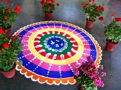 Watch Top 10 North Indian Rangoli Designs To Try In 2019 video