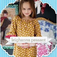 Great sewing ideas on this site. these peasants dresses are so easy to make and so cute.