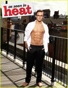 Tom Daley: Shirtless Photo Shoot for 'heat' Magazine! SUPERHERO