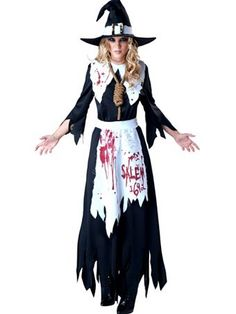 Women's Salem Witch Costume | Womens Costumes Witch Halloween Costumes