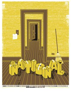 GigPosters.com - The National