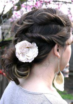 Summer Hairstyle: Boho Twist