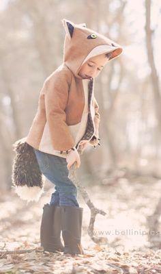 Fox coat!