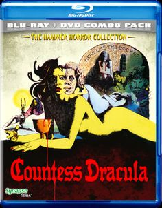 Countess Dracula Blu-Ray/DVD Combo Pack from Synapse Films