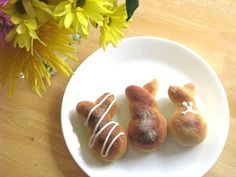 Cinnamon Bunny Rolls by Gluesticks #Bunny_Rolls #Gluesticks