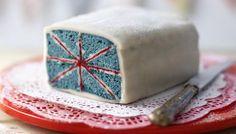tea parti, battenberg cake, british food recipes, bake, battenburg, thing british, mini cakes, birthday cakes, union jack