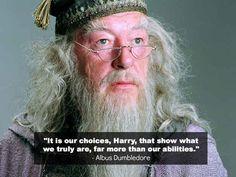 albus dumbledor, harri potter, books, word of wisdom, hermione granger