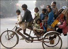 People In India   It looks like people in India try to save our planet;) This means of ...