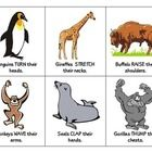 """This activity includes 30 flash cards based on Eric Carle's book """"From Head to Toe."""" It includes animals from the story as well as additional anima..."""