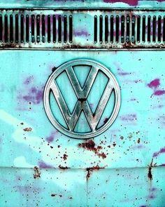 #car #turquoise #VW