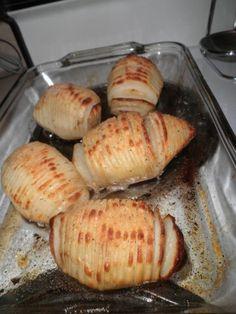 Sweden – Hasselbackspotatis (Hasselback potatoes)