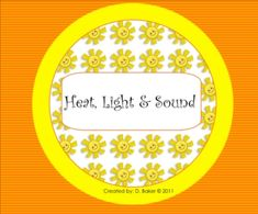 This Smartboard lesson covers sound, pitch, volume, vibration, sources of heat, sources of light, and how light moves. There are engaging activitie...