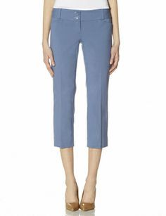 Exact Stretch Cropped Pants from THELIMITED.com #TheLimited #LTDWellSuited #OnlineExclusive