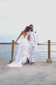 Beach wedding, Santa Marta, Colombia  #wedding