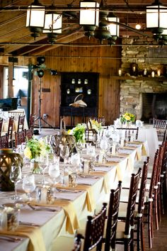 Rustic Wedding Table Decor