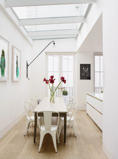 """like the idea of this """"conservatory style"""" ceiling off the kitchen I need a table this size for my kitchen. They are hard to find. I love this table :)"""