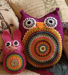 Ravelry: Bunny Buddy Pillow pattern by Kim Boardman