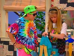 Oh the 90s clothes...