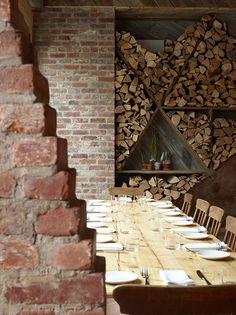 justthedesign:    Dining Room At Isa Design ByTaavo Somer