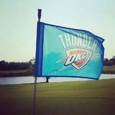 Thunder tee time!