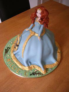 Princess Merida Cake — Children's Birthday Cakes