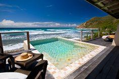 Premier Suite Plunge Pool at Biras Creek Resort, Caribbean.