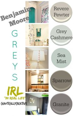 Grey Paint Colors: I