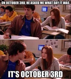Happy October 3rd Day!