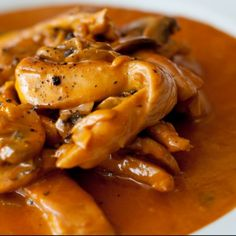 This Chicken Stroganoff recipe uses boneless, skinless chicken breasts and is a very tasty way to prepare chicken.