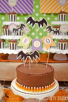 DIY Halloween Cake #DIY #halloween #cake