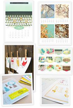 Calendar - diy feel
