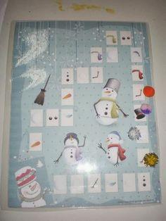 παιχνιδοκαμώματα στου νηπ/γειου τα δρώμενα: χιονάνθρωποι .......το τραγούδι του χειμώνα !!!